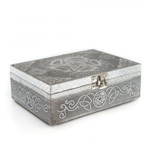 Tarot or Jewelry Box Pentagram (17.5 cm)