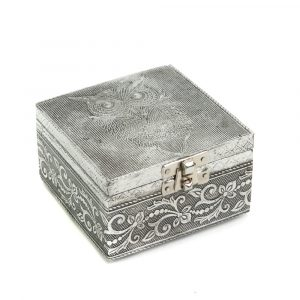 Tarot or Jewelry Box Owl (10 cm)