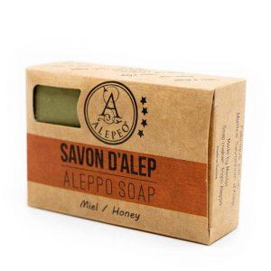 Aleppo Soap Honey - 8% Bay Laurel Oil - 100 grams