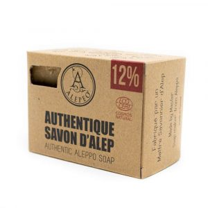 Aleppo Soap Authentic Ecocert - 12% Bay Laurel Oil - 200 grams