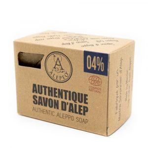 Aleppo Soap Authentic Ecocert - 4% Bay Laurel Oil - 200 grams