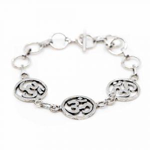 Bracelet OHM Charms Silver-tone (18 cm)