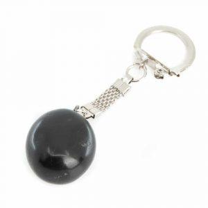 Gemstone Keychain Shungite