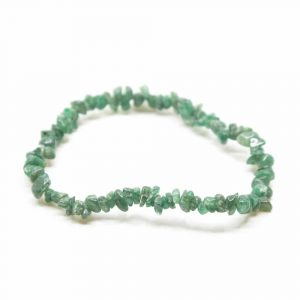 Gemstone Split Bracelet Green Jade