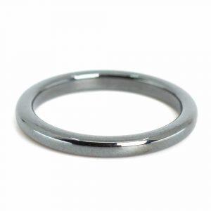 Gemstones Ring Hematite (3 mm - Size 17)