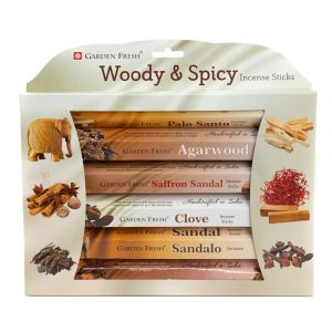 Garden Fresh - Wood and Herbs Incense Gift Set (6 pack)