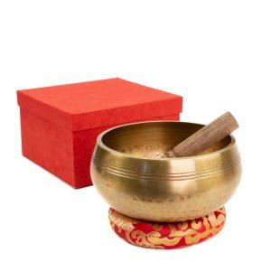 Singing Bowl Gift Set Handmade - 19 cm