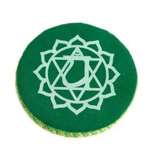 Singing Bowl Cushion Fourth Chakra (15 cm)
