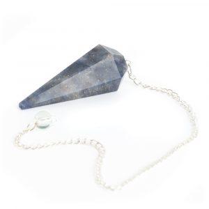 Pendulum Gemstone Blue Aventurine Facet