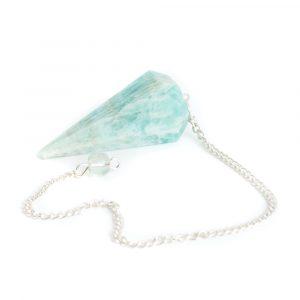 Pendulum Gemstone Amazonite Facet