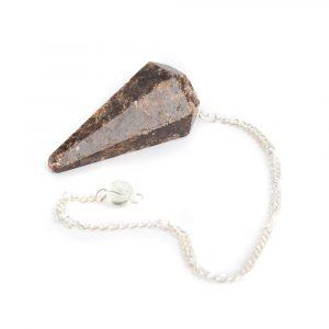 Pendulum Gemstone Garnet Facet
