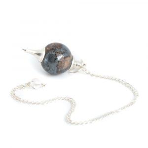 Pendulum Gemstone Hematite Sphere