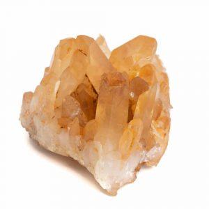 Raw Tangerine Quartz Gemstone 3 - 5 cm
