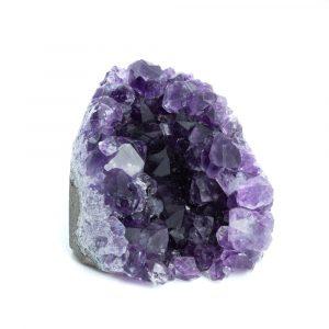 Raw Dark Amethyst Gemstone Geode Standing 30 - 50 mm