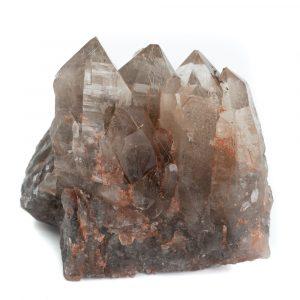 Rough Smoky Quartz Elestial Gemstone 8 - 12 cm