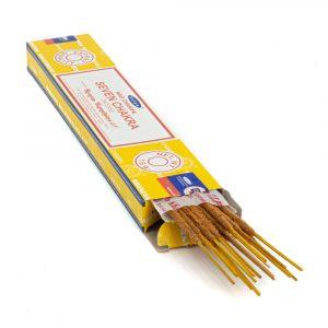Satya - 7 Chakras - Incense Sticks (1 Pack)