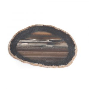 Disc Black Agate Medium (6 - 8 cm)