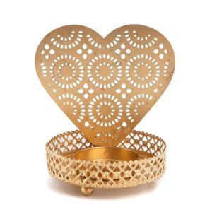 Tea Light Holder Heart (10 cm)
