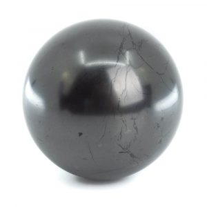 Shungite Gemstone Sphere Polished (60 mm)