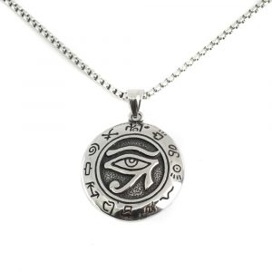 Amulet Silver Colored Eye of Horus (35 mm)