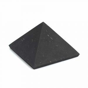 Gemstone Pyramid Shungite Unpolished - 50 mm