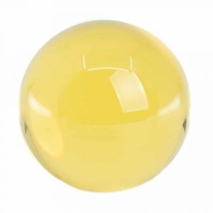 Feng Shui Crystal Ball - 3rd Chakra - Solar Plexus Chakra (50 mm)