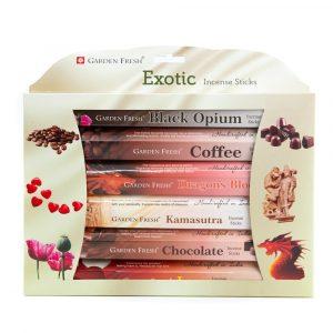 Garden Fresh - Exotic Incense Gift Set (6 packages)