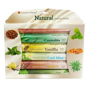 Garden Fresh - Natural Incense Gift Set (6 packs)