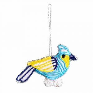 Pendant Ornament Traditional Blue Bird (13 cm)