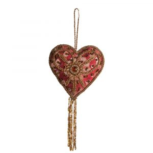 Pendant Ornament Traditional Heart (25 cm)