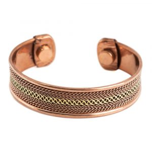 "Copper Magnet Bracelet ""Grid"" Alternative"