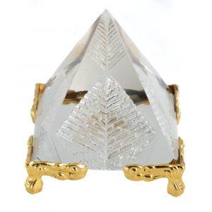 Crystal Piramide Feng Shui with Base (5 cm)