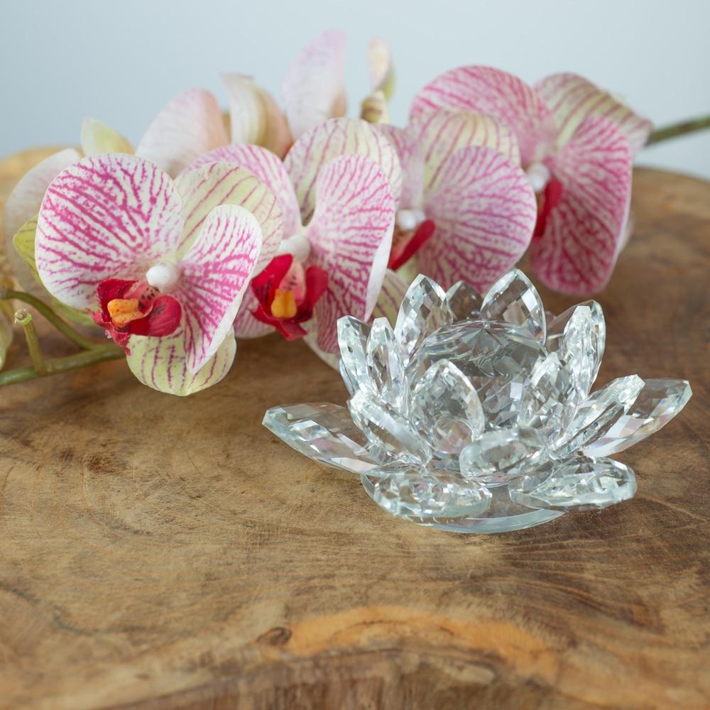 feng shui crystal lotus