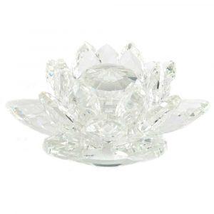 Feng Shui Rainbow Crystal Lotus (11 cm)