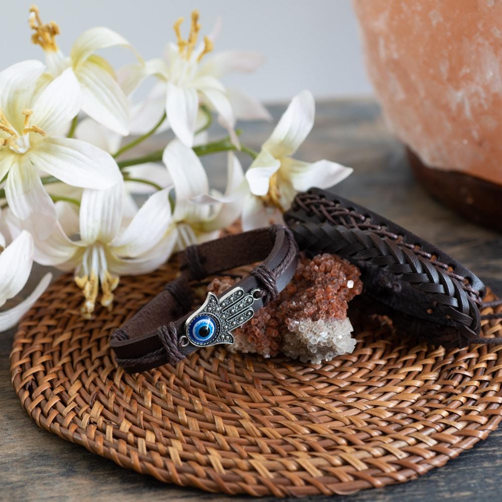 hamsa hand bohemian bracelet