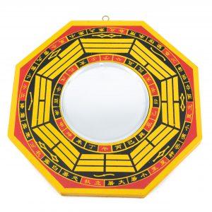 Feng Shui Bagua Mirror Convex (20 cm)