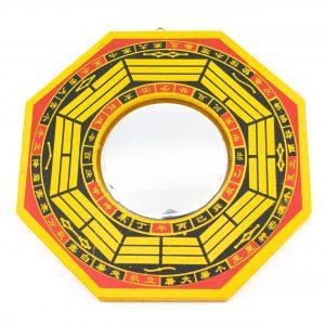 Feng Shui Bagua Mirror Concave (20 cm)