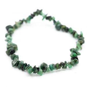 Gemstone Chip Bracelet Emerald