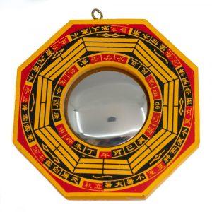 Feng Shui Bagua Mirror convex (10 cm)