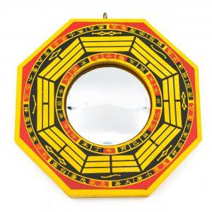 Feng Shui Bagua Mirror Convex (15.5 cm)