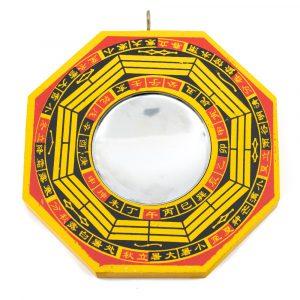 Feng Shui Bagua Mirror Concave (10 cm)