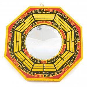 Feng Shui Bagua Mirror Concave(15.5 cm)