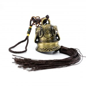 Feng Shui Bell Pendant with Ganesha (32 cm)