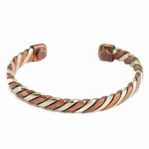 "Copper Magnet Bracelet ""Duality"""