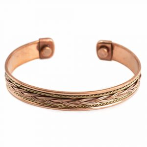 "Copper Magnet Bracelet ""Knots"" Alternative"