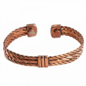 "Copper Magnet Bracelet ""Weaver"""