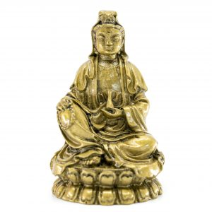 Medicine Buddha Gold Toned (8,5 cm)