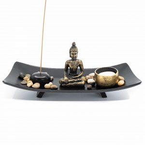 Mini Zen Altar Japanese with Buddha