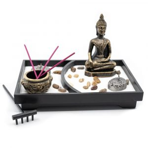 Mini Zen Garden Japanese with Buddha (12,5cm)