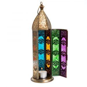 Eastern Lantern Atmosphere Light Seven Chakras Gold (30 cm)